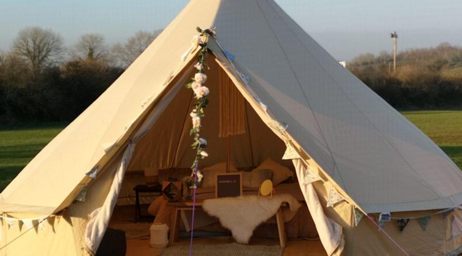 Waterproof bell tent